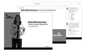 eBook: Sales Effectiveness: Overcoming Objections